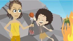 פריים מהפקת סרט אנימציה לIMS