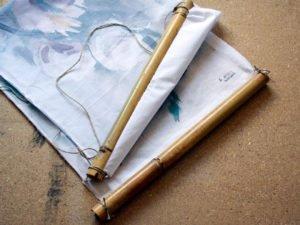 מיתלה במבוק יפני עבודת יד. רוחב 36 סמ