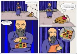 כפולה מהקומיקס חנה הנביאה