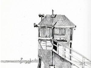 סוכת מציל חוף ראשון תקופת הקורונה