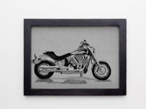 אופנוע הארלי דוידסון דגם חדיש