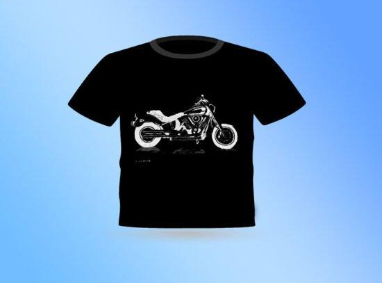 חולצה שחורה הארלי חדש