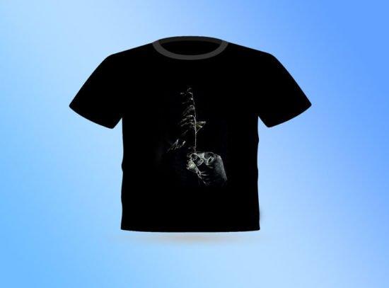 חולצה שחורה שעורה