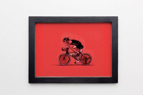 רוכב נייר אדום