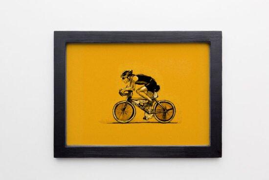 רוכב נייר צהוב