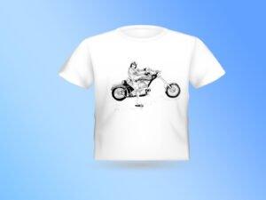 חולצה עם הדפס של רישום של האגזוזן משכונת רמז