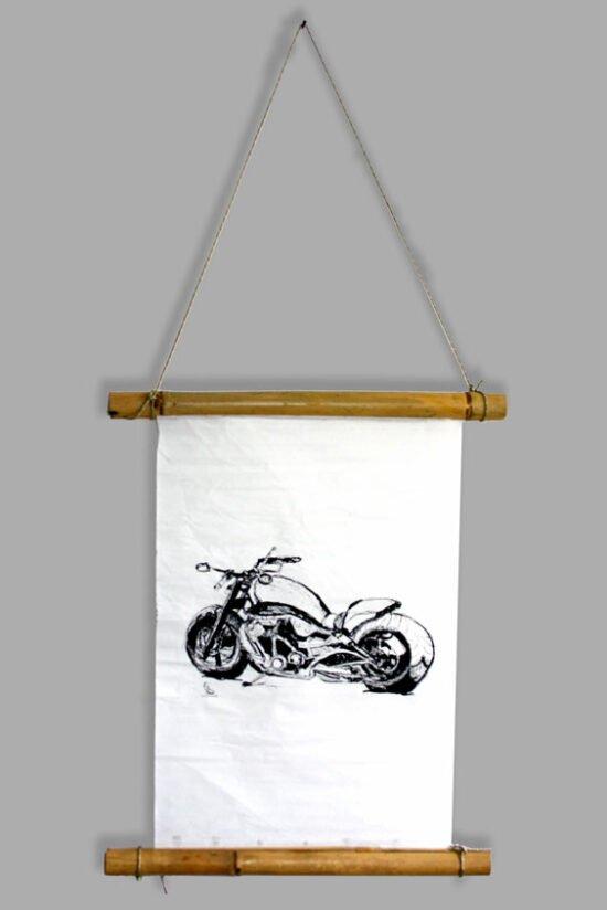 אופנוע עם מתלה יפני