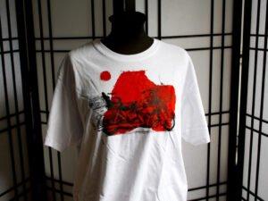חולצת טריקו מודפסת XL עם רישום של אופנוע הארלי דוידסון