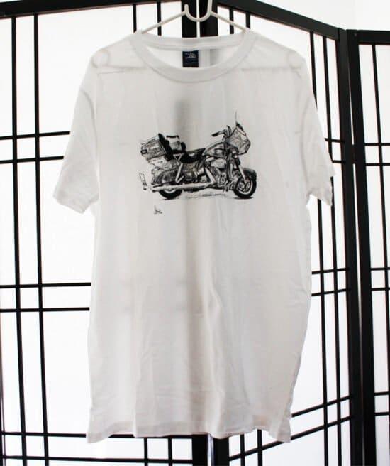 חולצה לבנה קינג רוד