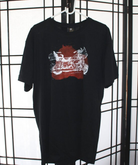 חולצות קינג רוד כתם אדום