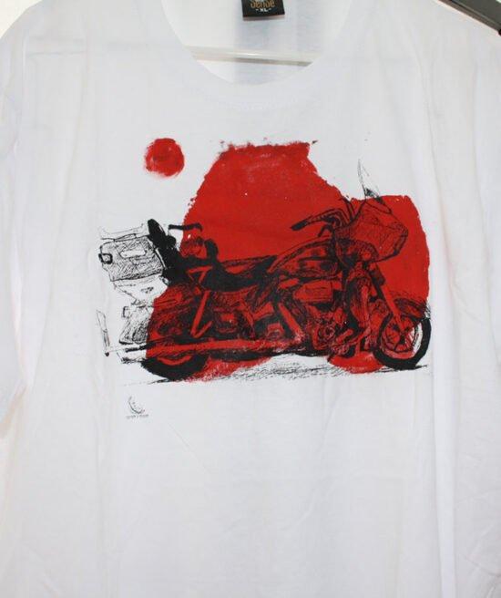 חולצת ל קינג רוד כתם אדום