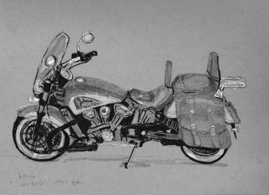 רישום אופנוע אינדיאן