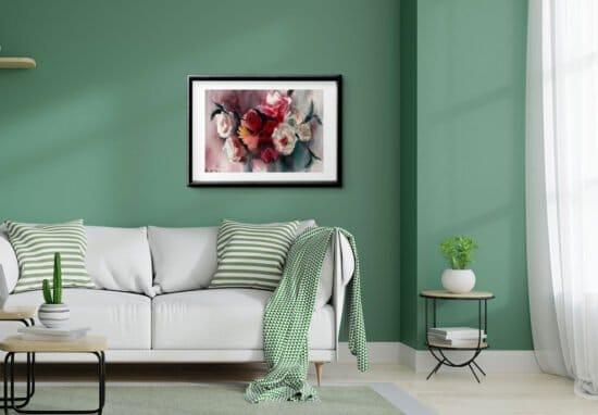 זר סימטרי סלון ירוק
