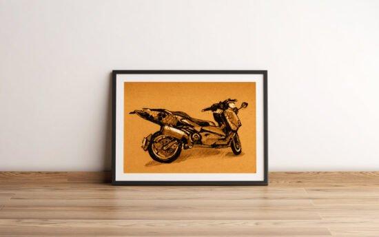 קטנוע כוורת קראפט חום