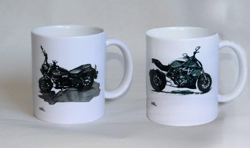 שתי כוסות מוצר