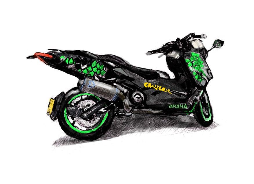 קטנוע ימהה כוורת